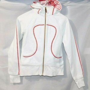 Lululemon Canadian White Maple Leaf Scuba Hoodie